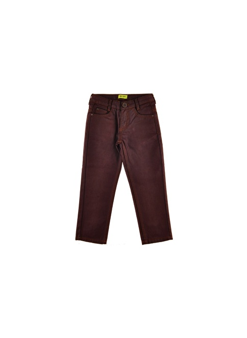 Nebbati Pantolon Bordo